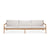 Teak Jack Outdoor Sofa - 3 Seater