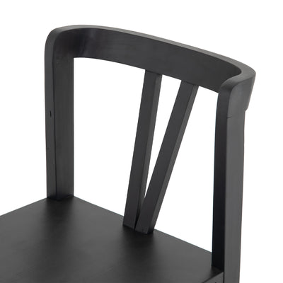 Daisy Dining Chair - Matte Black