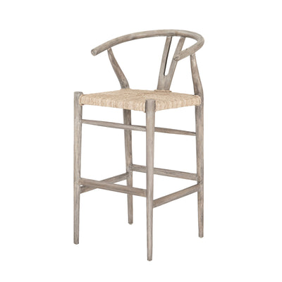 Muestra Bar Stool - Weathered Grey