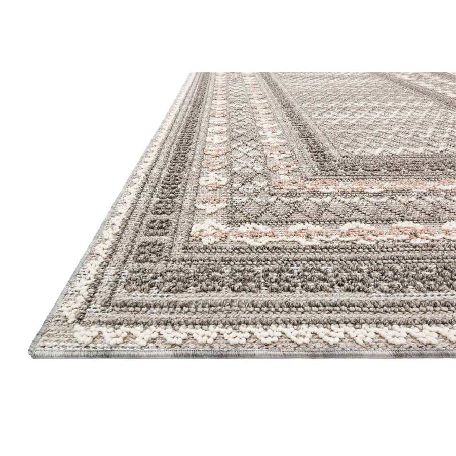 contemporary neutral tones rug - for both indoor and outdoor