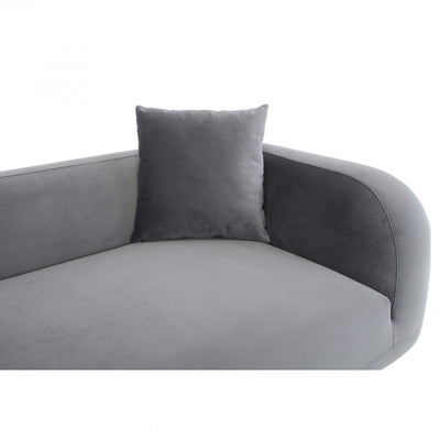 Deleuze Chaise Anthracite