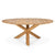 Teak Circle Outdoor Dining Table {64x64x30}