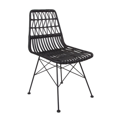 Calabria Dining Chair – Black