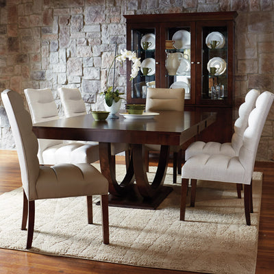 Custom Dining Arm Chair {C-1615}