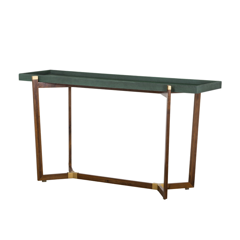Vibe Shagreen Console Table