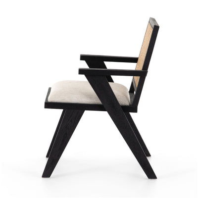 Flora Dining Chair - Drifted Matte Black