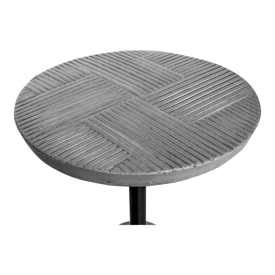 Foundation Outdoor Accent Table - Grey