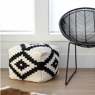 Boho Canyon Pouf