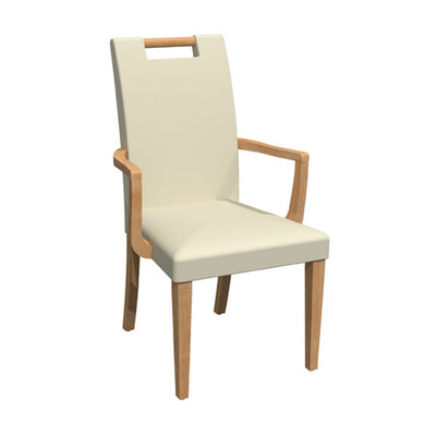 Beaumont Custom Dining Arm Chair {C-1464}