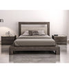Cloe Wood + Upholstered Bed