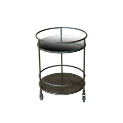 Maria Mirrored Side Table