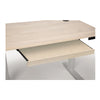 Invigo Sit-Stand Desks -  Soaped Ash