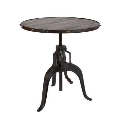 Crank Adjustable Table
