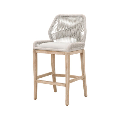 Loom Bar Stool - Taupe