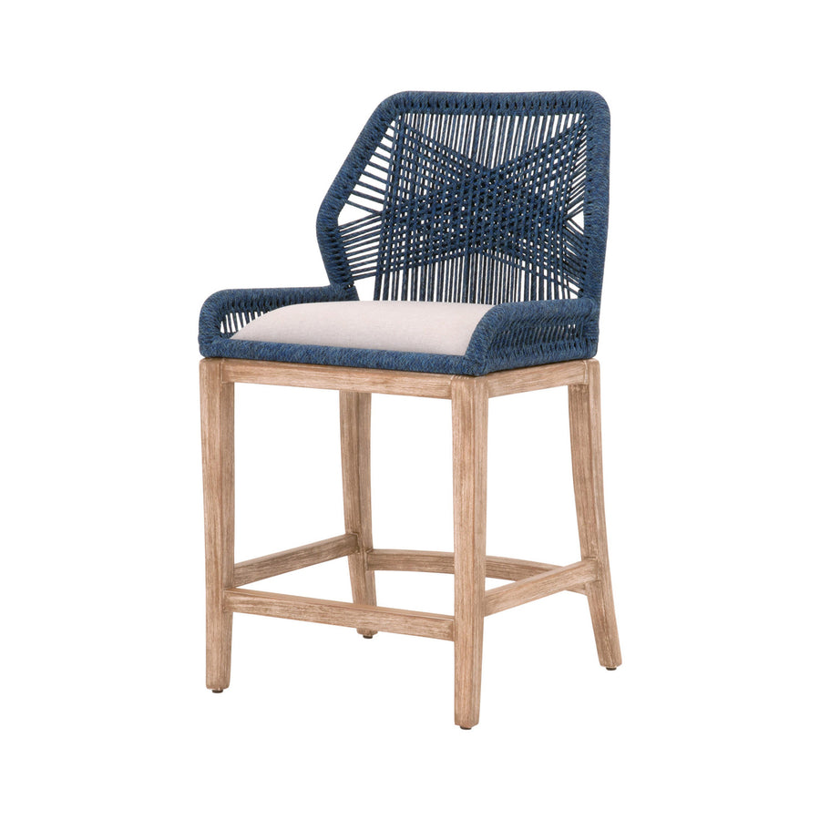 Loom Counter Stool - Limited Edition Indigo