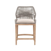 Loom Counter Stool - Platinum
