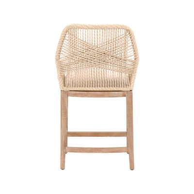Loom Counter Stool - Sand