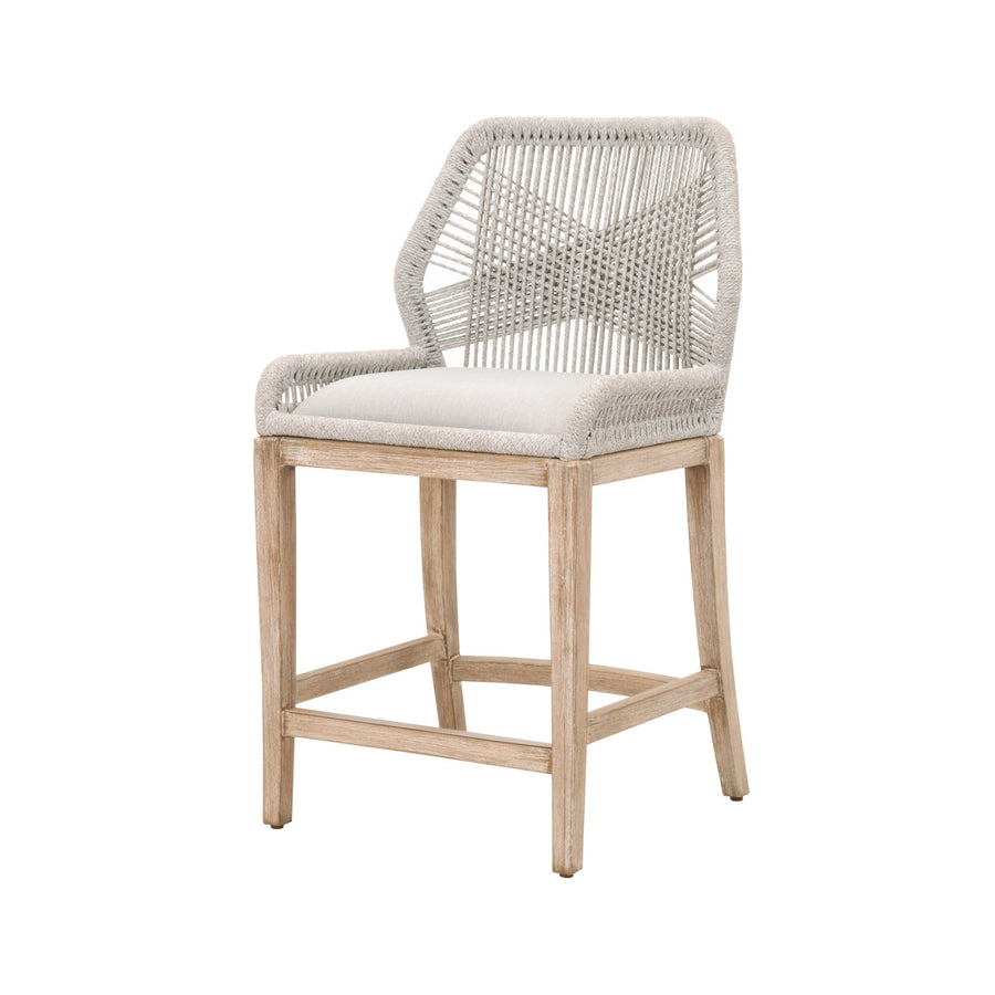 Loom Counter Stool - Taupe