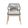 Loom Dining Chair - Platinum