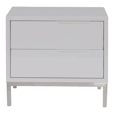 Naples Side Table - White