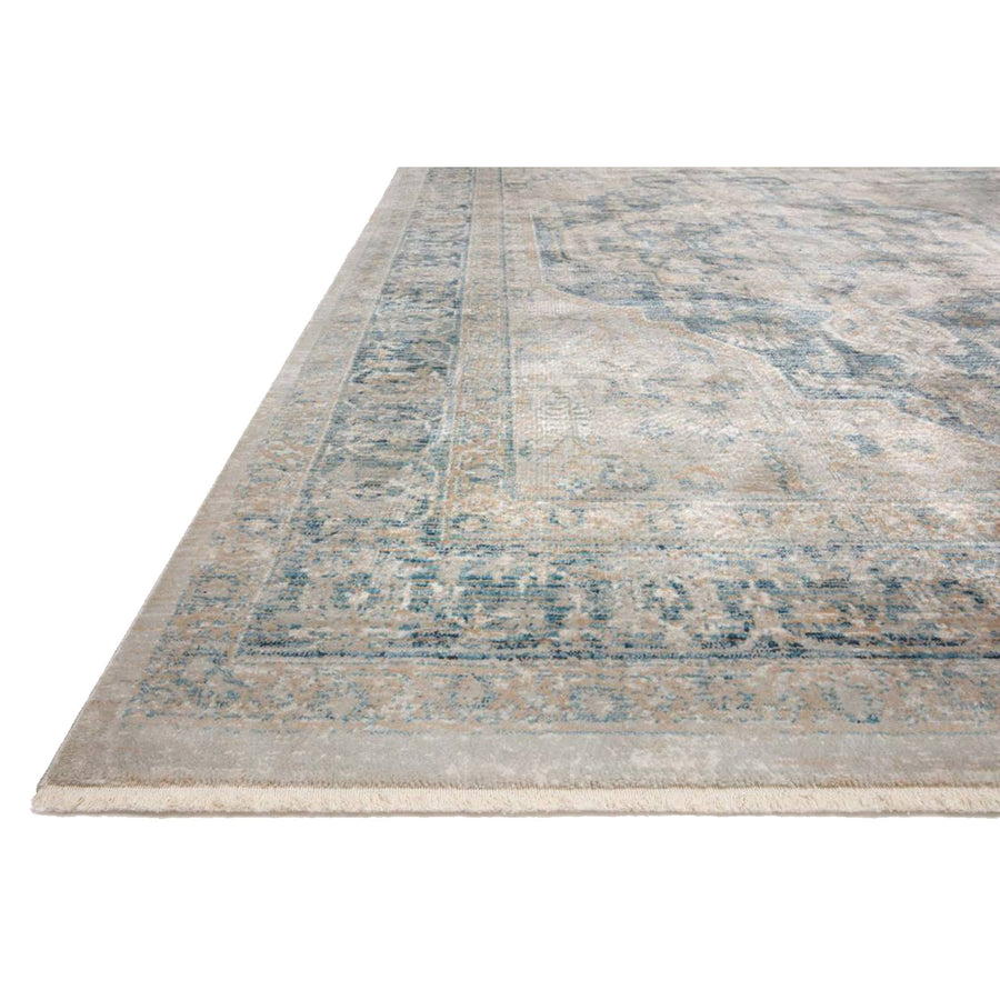 Elise Rug - Neutral / Blue
