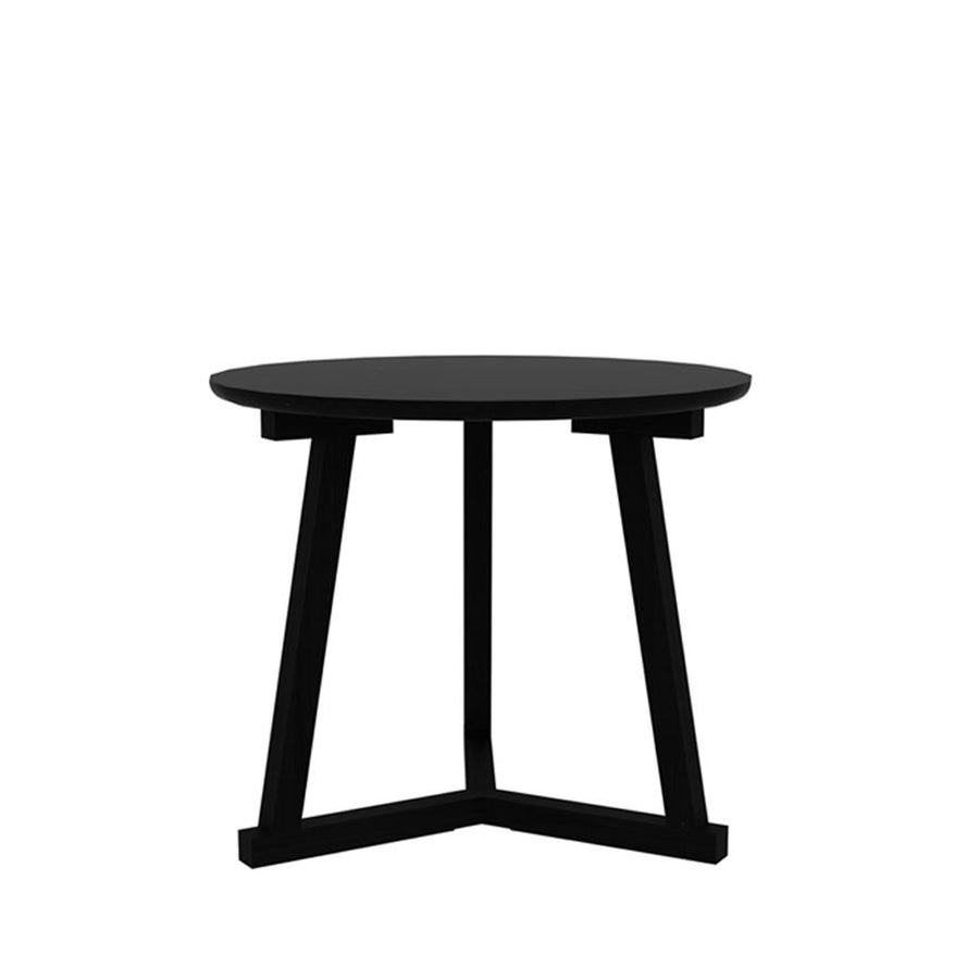 Oak Blackstone Short Tripod Side Table