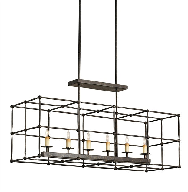Fitzjames - Rectangular Chandelier