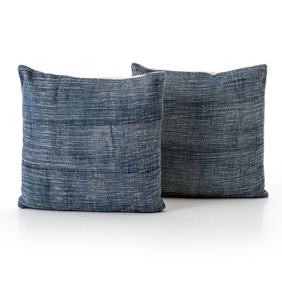 Faded Blue Haze Pillow