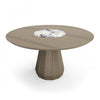 "Memento 54"" Round Table W/ Lazy Susan"