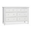 Isabella 7 Drawer Dresser (105028839)
