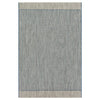 Isle Outdoor Rug - Blue Grey