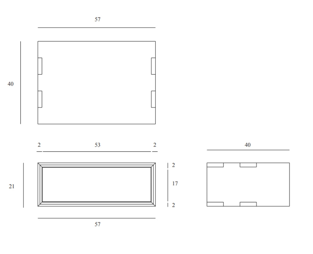 Line Drawing Nordic Bedside Table Floating 2000x
