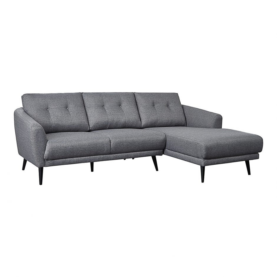 Carson Sectional Right - Grey