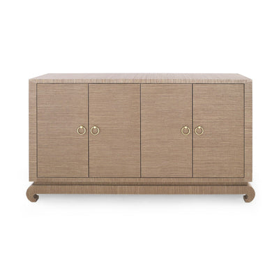 Meredith Cabinet - Brown