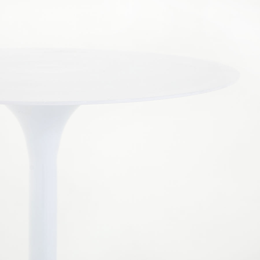 Tulip Side Table - White