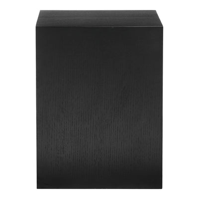 Zio Side Table Black Oak