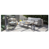 Genval Coffee Table w/Aluminum Top