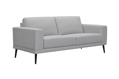 Thurlow Large Loveseat - Brodrick Charcoal