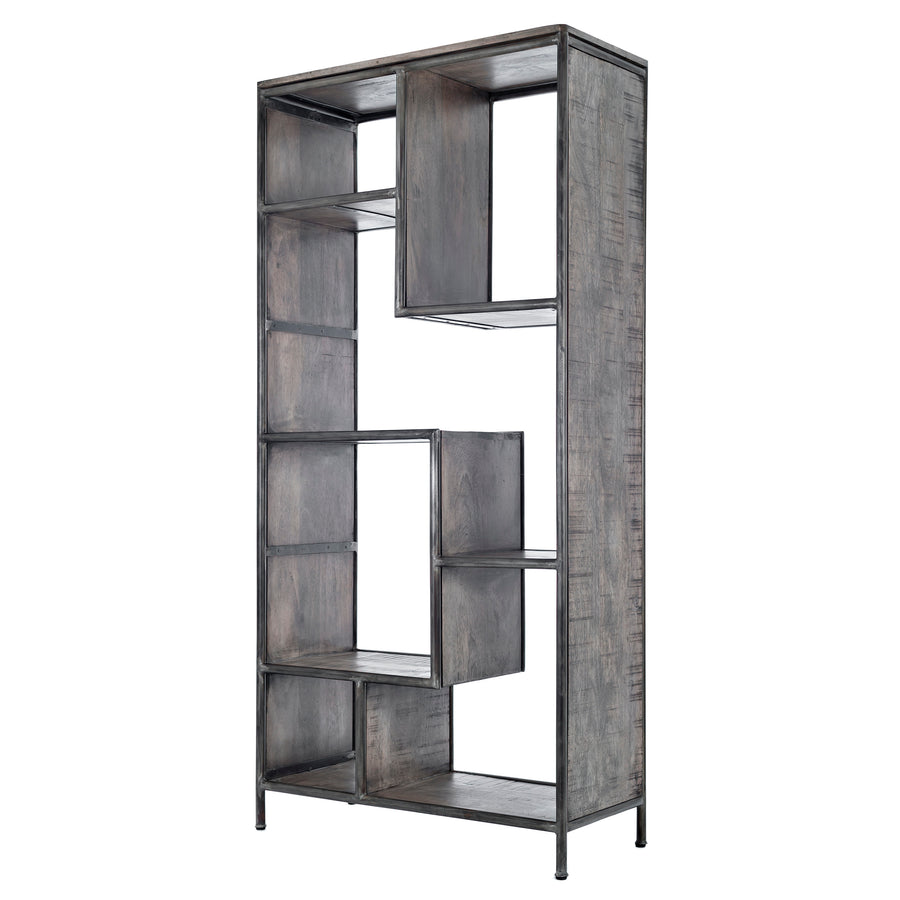 Cubix Metal Tall Bookcase
