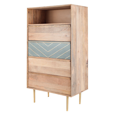 Toshi 4 Drawer Tall Chest