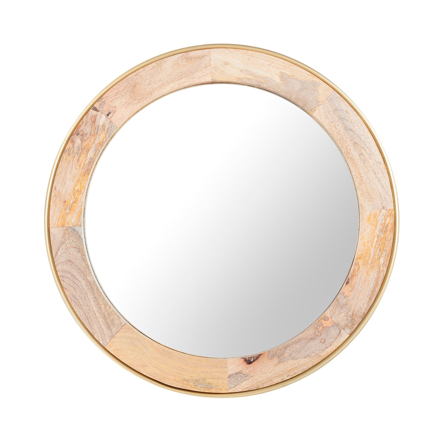 Toshi Wood Mirror