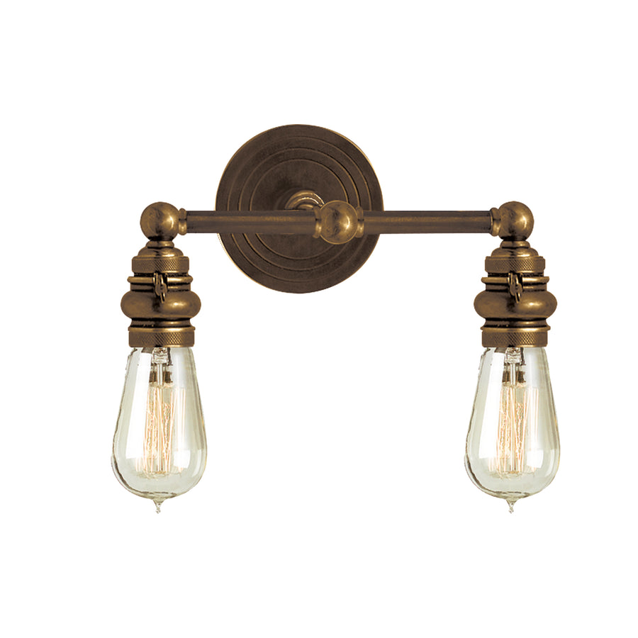 Boston 2 Arm Sconce