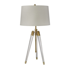 Acrylic Tripod Table Lamp