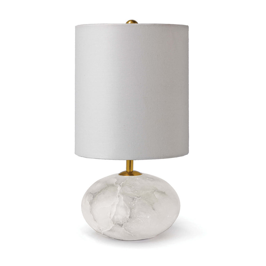 Alabaster Orb Table Lamp