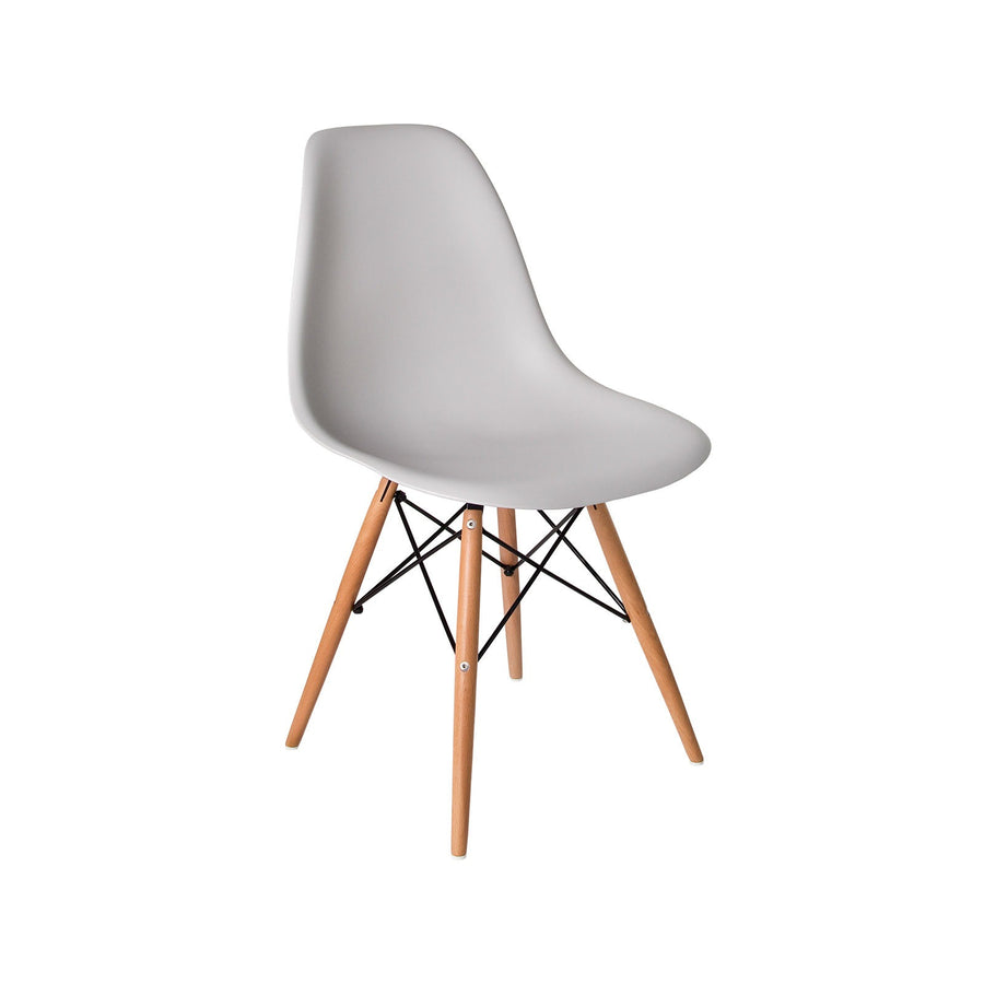 Cairo Chair - Grey + Blonde