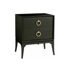 Redford Bennet 2 Drawer Nightstand