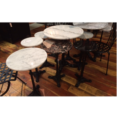 Marble & Granite Bistro Tables