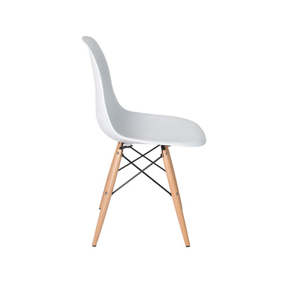 Cairo Chair - White + Blonde