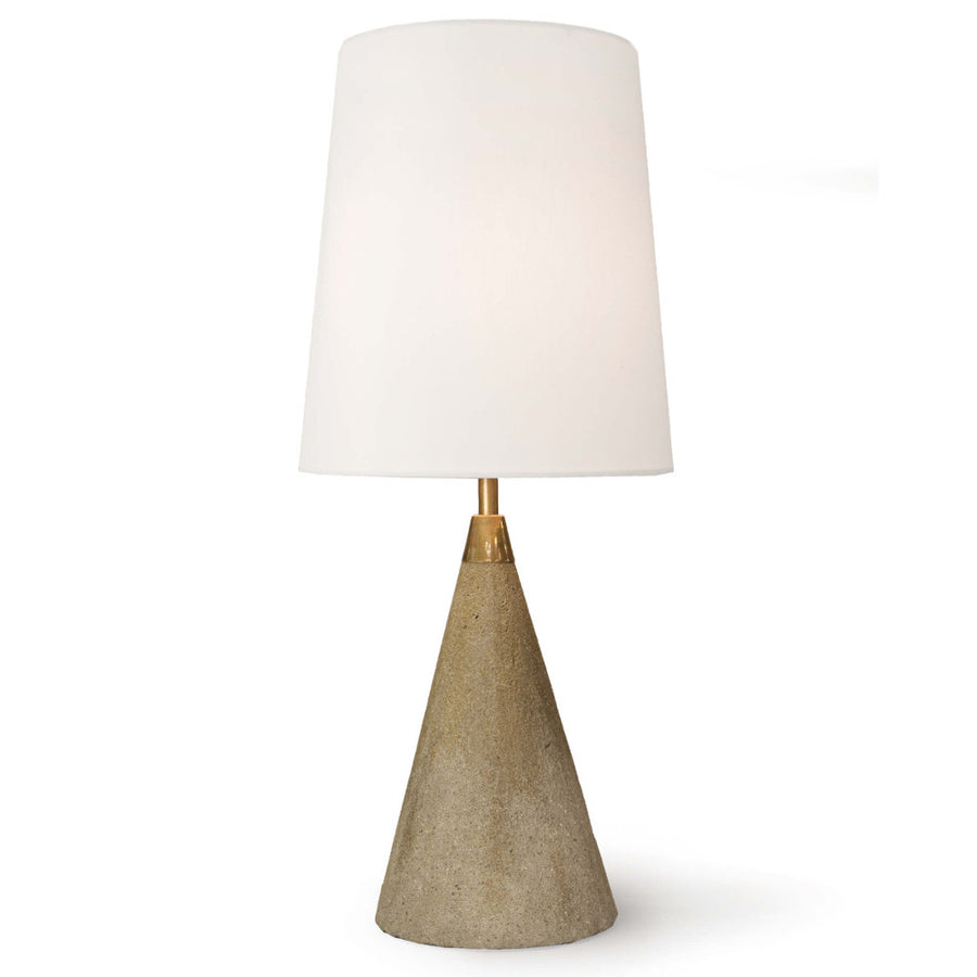 Concrete Mini Cone Table Lamp
