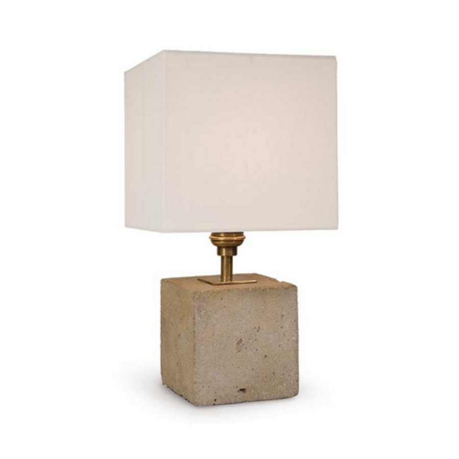 Concrete Mini Cube Table Lamp (3866387269)